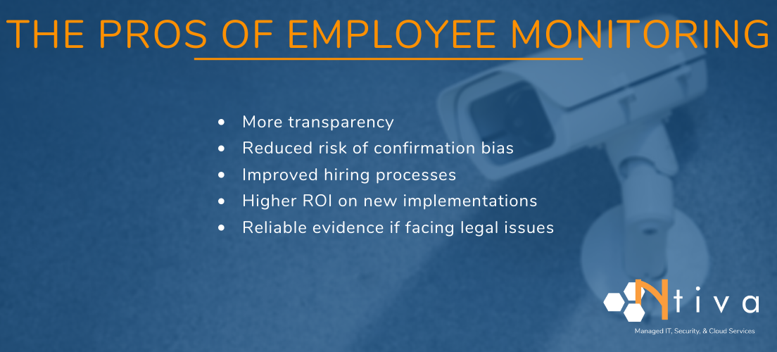 Why monitor employees