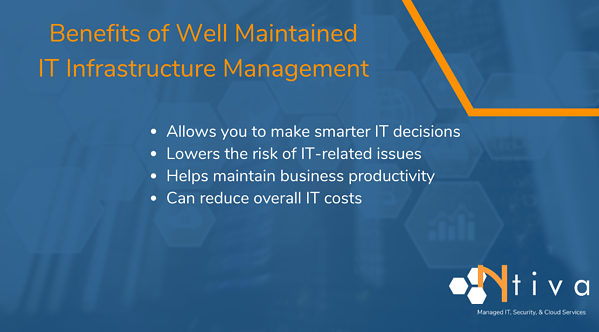 The Benefits of IT Infrastructure Management