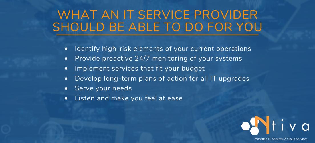 IT Service Provider Near Me List
