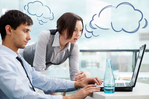 Businesses that need cloud collaboration