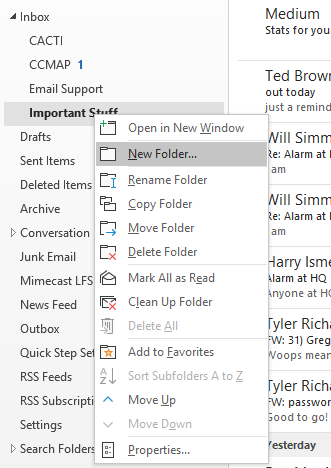 Steps to Clean Up Outlook