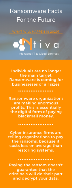 Ransomware Facts Infographic from Expert IT Consultant