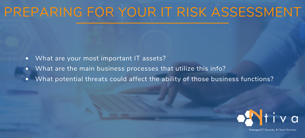 How to Prepare for an IT Risk Assessment