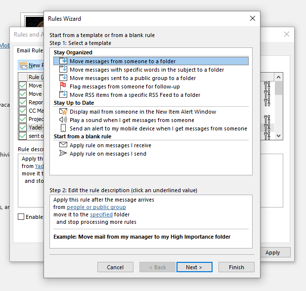 How to Use Outlook Rules to Control Your Mailbox