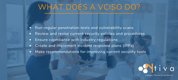 What does a vCISO do?