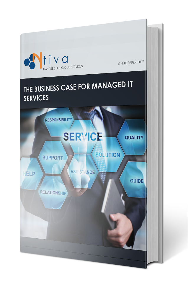 A book image for the White Paper: The Business Case for Managed IT Services