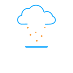 A cloud above a computer representing Desktop Virtualization