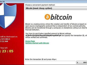 bitcoin ransomware demand