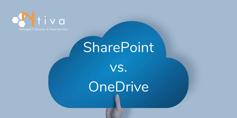 SharePoint vs OneDrive: What's the Difference?